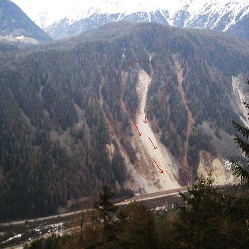 Bergsturz Köfels