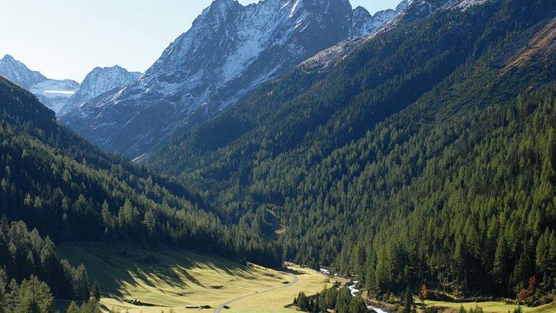 Sulztal bei Gries - Ruhegebiet Stubaier Alpen