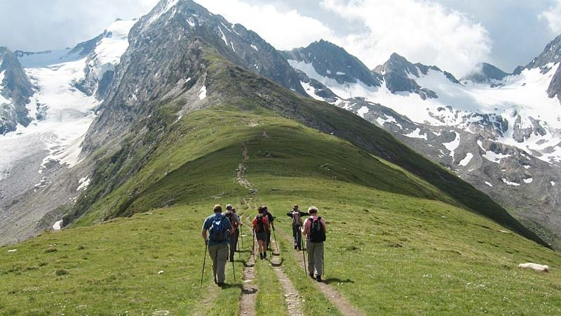 Gletscher erleben ©A. Hofer - NATURPARK ÖTZTAL