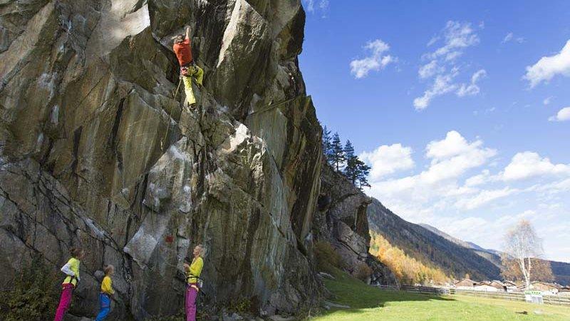 Klettern Längenfeld ©Oetztal Tourismus - Elias Holzknecht