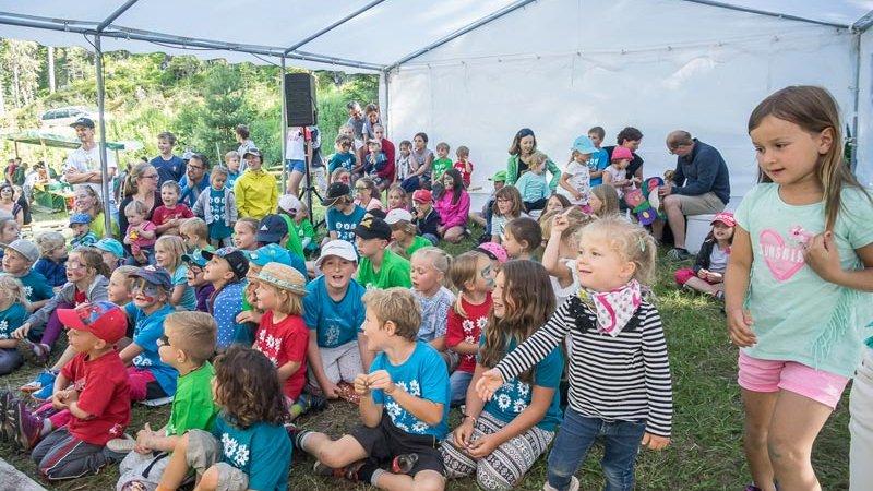 Naturpark Familienfest - Festzelt ©Oliver Bacun