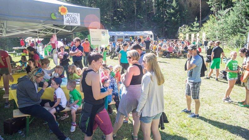 Naturpark Familienfest - Kreativstation ©Oliver Bacun
