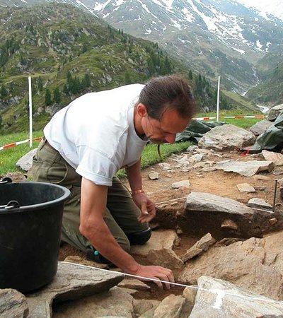 Beilstein Obergrugl - Grabung - NATURPARK ÖTZTAL
