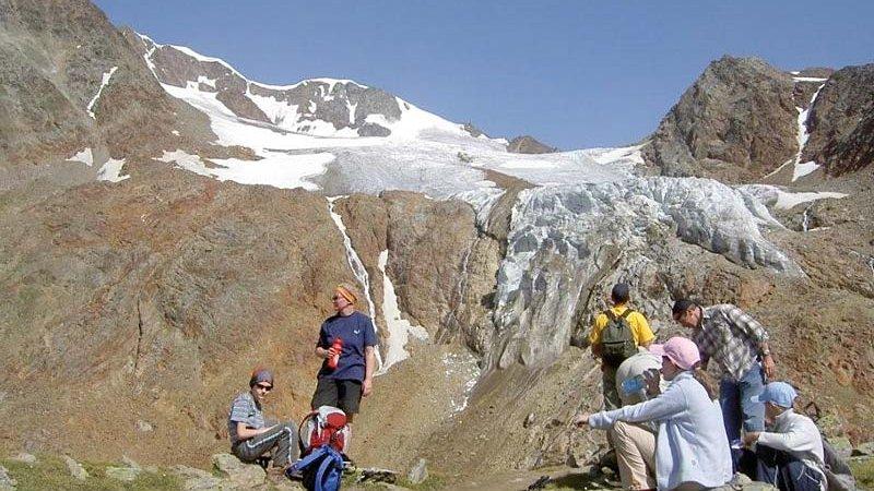 Gletscher, Geologie, Geschichte ©M. Scheiber - Naturpark Ötztal
