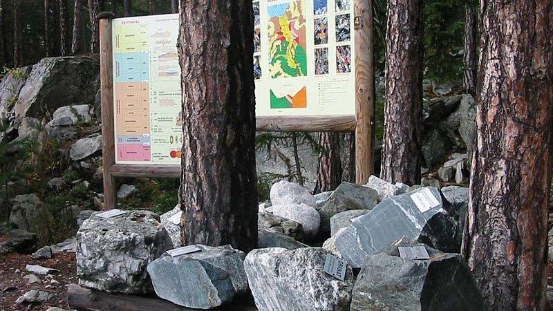 Geoweg Winkelberg ©W. Schwarz - Naturpark Ötztal