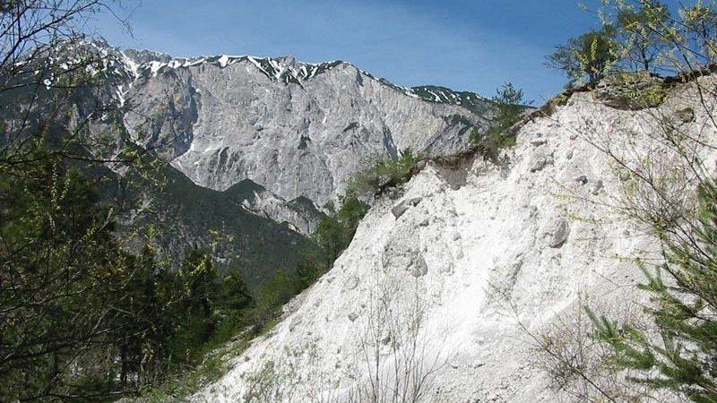 Geoweg Roppen Forchet ©W. Schwarz - Naturpark Ötztal