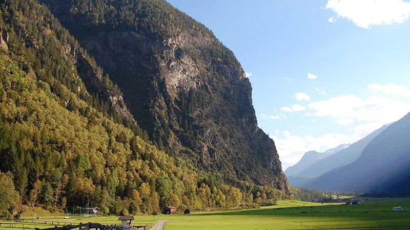 Naturschutzgebiet Engelswand -  Naturpark Ötztal