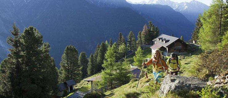 Oetz Armelenhütte ©B. Ritschel - Ötztal Tourismus