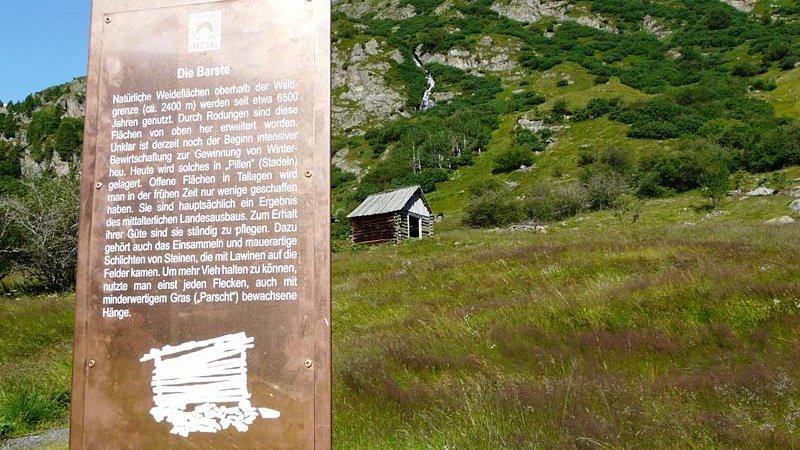 Archäologischer Rundwanderweg - Naturpark Ötztal