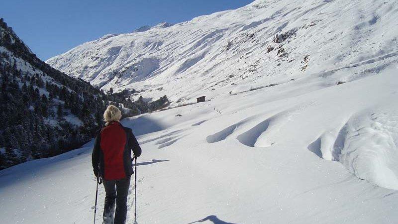 Schneeschuhwandern Naturpark Ötztal ©Ötztal Tourismus B. Klotz