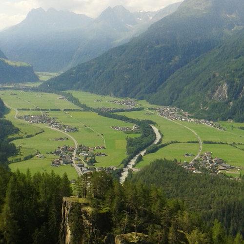 Köfler Bergsturz ©Archiv Naturpark Ötztal P. Plattner