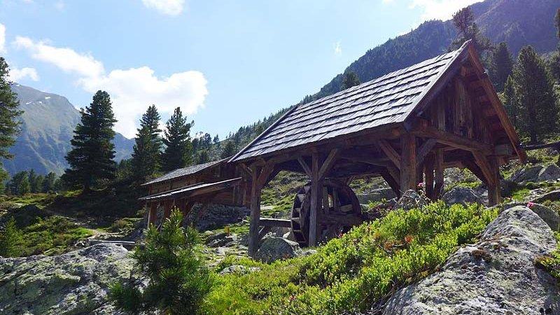 Knappenweg Kühtai - Hochoetz ©W. Schwarz - Naturpark Ötztal