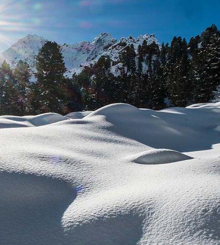 Schneeschuhwandern Längenfeld NATURPARK ÖTZTAL ©Ötztal Tourismus E. Schmid