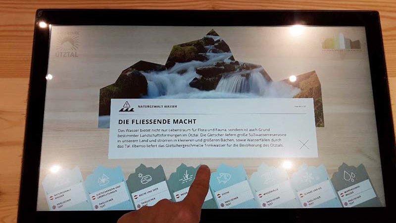 "Naturpark Haus in Längenfeld ""Touchscreen"""