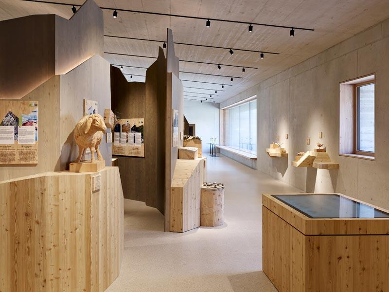 Naturpark Haus Ausstellung
