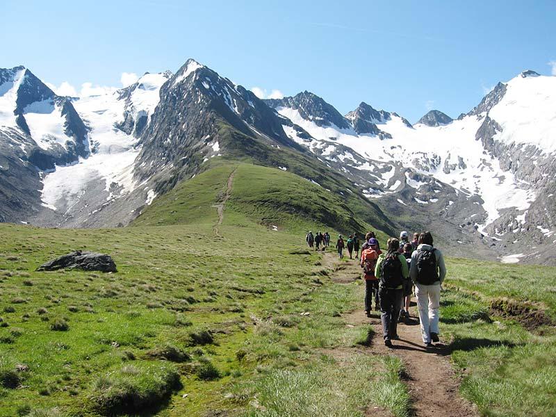 Wanderung Hohe Mut ©Archiv Naturpark Ötztal - A. Hofer